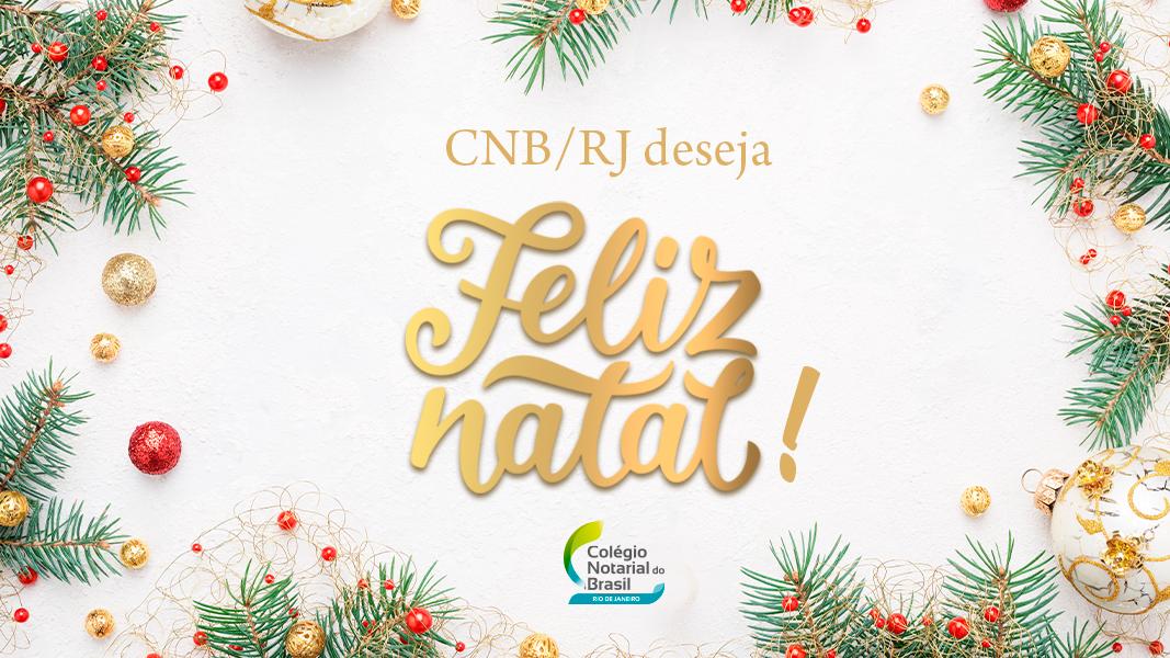CNB/RJ Deseja Feliz Natal!