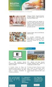 Boletim Notarial Semanal Edição Nº22