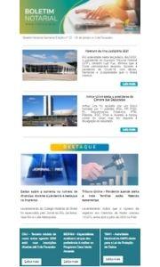 Boletim Notarial Semanal Edição Nº23